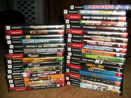games of playstation 2: